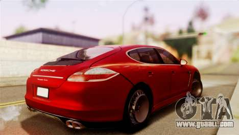 Porsche Panamera for GTA San Andreas left view
