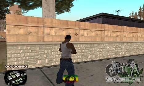 C-HUD Rasta for GTA San Andreas second screenshot