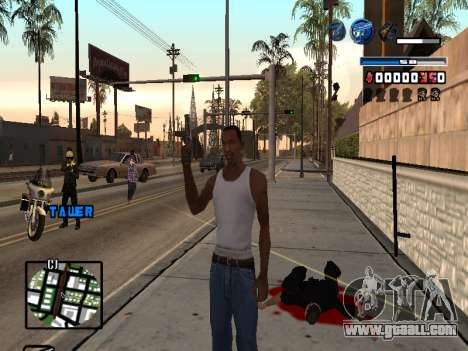 C-HUD Fantastik for GTA San Andreas second screenshot