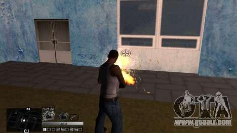 C-HUD Silver for GTA San Andreas third screenshot
