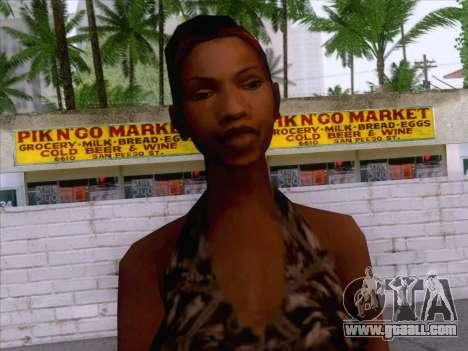 New Ballas Skin 3 for GTA San Andreas third screenshot