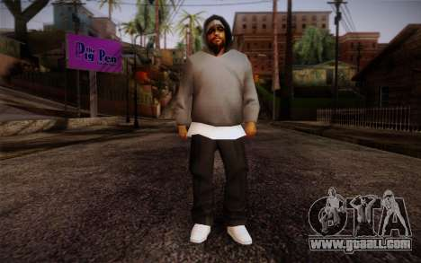 New Fam Skin 3 for GTA San Andreas