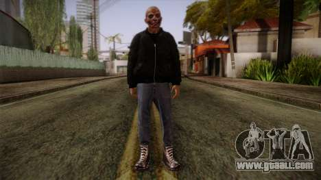 Gedimas Bjorn Skin HD for GTA San Andreas