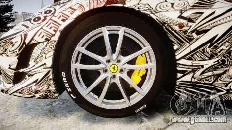 Ferrari F430 Scuderia 2007 Sharpie for GTA 4 back view