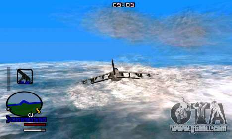 C-HUD Normal for GTA San Andreas third screenshot