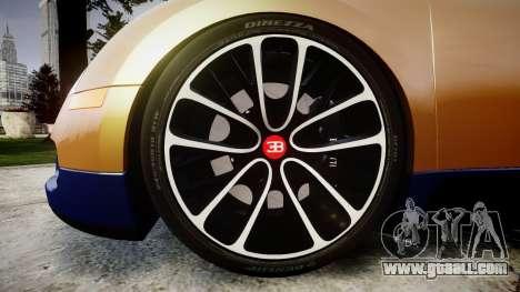Bugatti Veyron 16.4 v2.0 for GTA 4 back view
