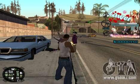 C-HUD Tawer GTA 5 for GTA San Andreas forth screenshot