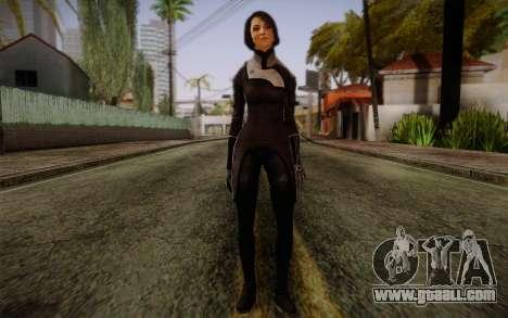 Ann Bryson from Mass Effect 3 for GTA San Andreas