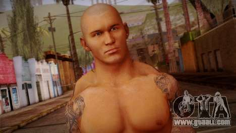 Randy Orton from Smackdown Vs Raw for GTA San Andreas third screenshot