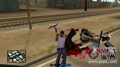 C-HUD by SampHack v.19 for GTA San Andreas forth screenshot