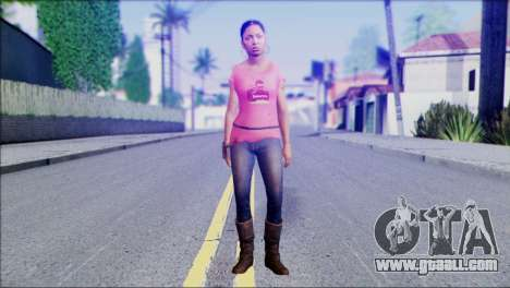 Left 4 Dead Survivor 5 for GTA San Andreas