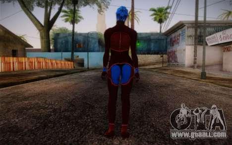 Asari Dancer from Mass Effect for GTA San Andreas second screenshot