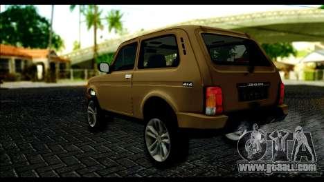 Lada 4x4 Urban for GTA San Andreas left view