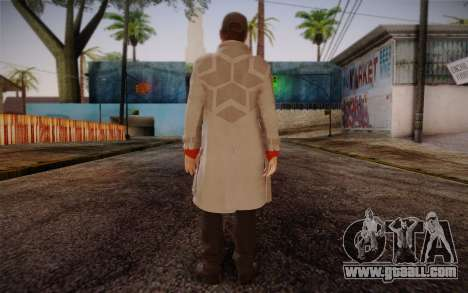 Aiden Pearce from Watch Dogs v7 for GTA San Andreas second screenshot