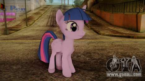 Twilight Sparkle from My Little Pony for GTA San Andreas