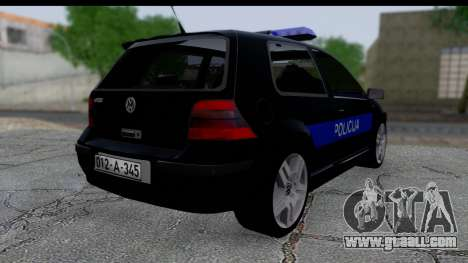 Volkswagen Golf MK4 for GTA San Andreas left view