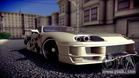 Toyota Supra Street Edition for GTA San Andreas
