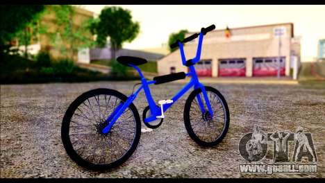 New BMX Bike for GTA San Andreas back left view