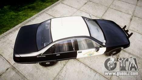 Chevrolet Caprice 1991 Highway Patrol [ELS] Slic for GTA 4 right view