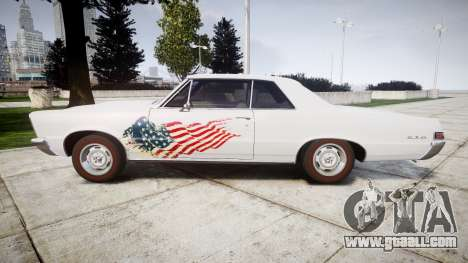 Pontiac GTO 1965 united for GTA 4 left view
