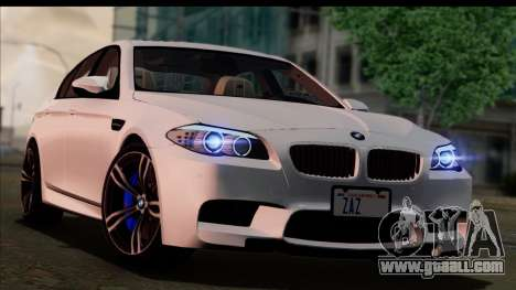 BMW M5 F10 2012 for GTA San Andreas