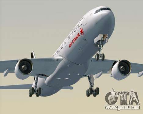 Airbus A330-300 Air Canada Star Alliance Livery for GTA San Andreas engine