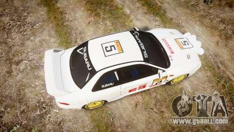 Subaru Impreza WRC 1998 v4.0 SA Competio for GTA 4 right view