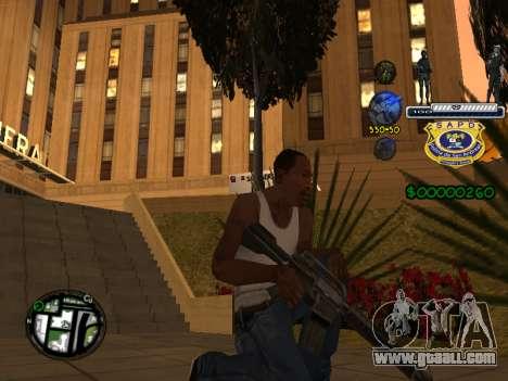C-HUD Police S.A.P.D for GTA San Andreas forth screenshot