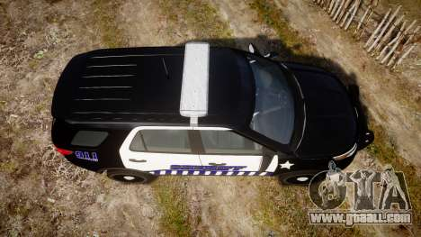 Ford Explorer 2013 Sheriff [ELS] v1.0L for GTA 4 right view