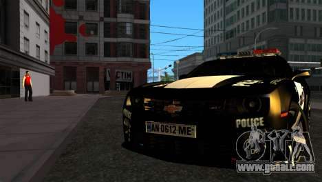 Chevrolet Camaro Police for GTA San Andreas