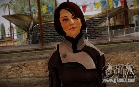 Ann Bryson from Mass Effect 3 for GTA San Andreas third screenshot