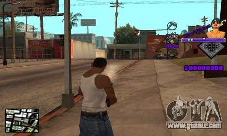 C-HUD King Of Detroit for GTA San Andreas forth screenshot