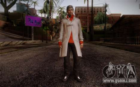 Aiden Pearce from Watch Dogs v7 for GTA San Andreas