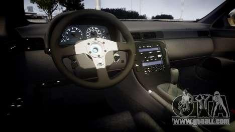 Lexus SC300 1997 for GTA 4 inner view