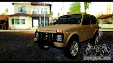 Lada 4x4 Urban for GTA San Andreas