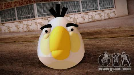 White Bird from Angry Birds for GTA San Andreas third screenshot