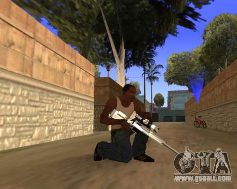 Clear weapon pack for GTA San Andreas fifth screenshot