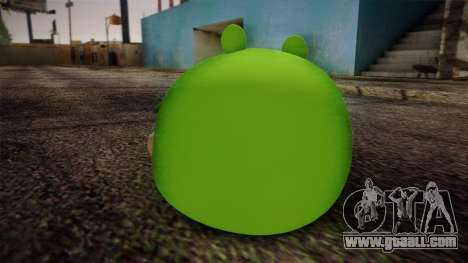 Pig from Angry Birds for GTA San Andreas second screenshot
