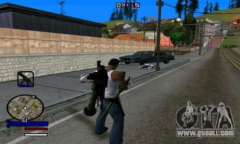 C-HUD Normal for GTA San Andreas fifth screenshot