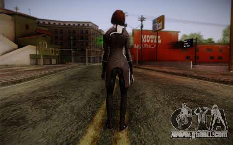 Ann Bryson from Mass Effect 3 for GTA San Andreas second screenshot
