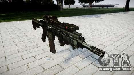 Rifle HK416 CQB for GTA 4