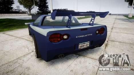 Invetero Coquette X for GTA 4 back left view