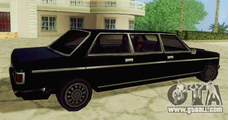 Admiral Limousine for GTA San Andreas left view