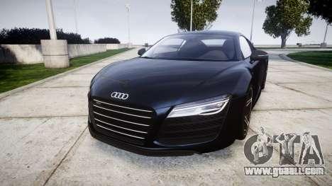 Audi R8 plus 2013 HRE rims for GTA 4