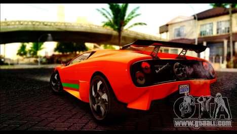 GTA 5 Pegassi Infernus [HQLM] for GTA San Andreas left view