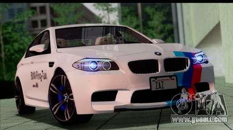 BMW M5 F10 2012 for GTA San Andreas wheels