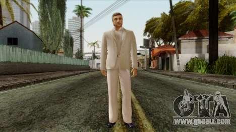 LCN Skin 1 for GTA San Andreas