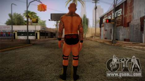Randy Orton from Smackdown Vs Raw for GTA San Andreas second screenshot