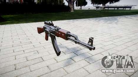 The AK-47 Collimator for GTA 4