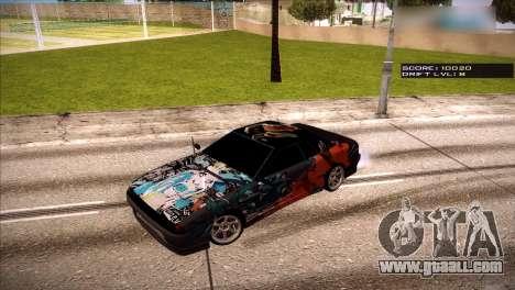 Vinyls for Elegy for GTA San Andreas fifth screenshot